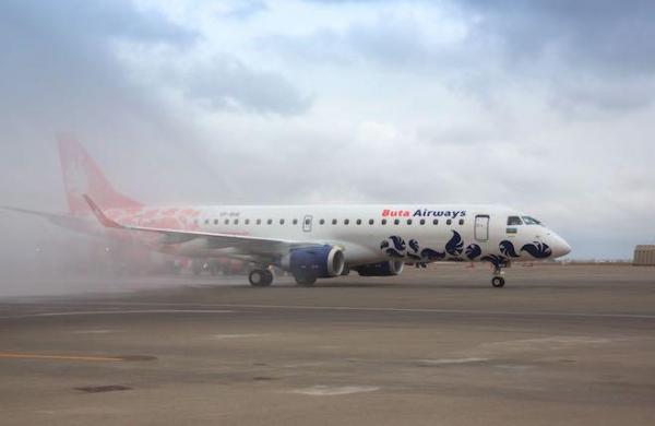 Маршрутная сеть Buta Airways вырастет до 17 направлений